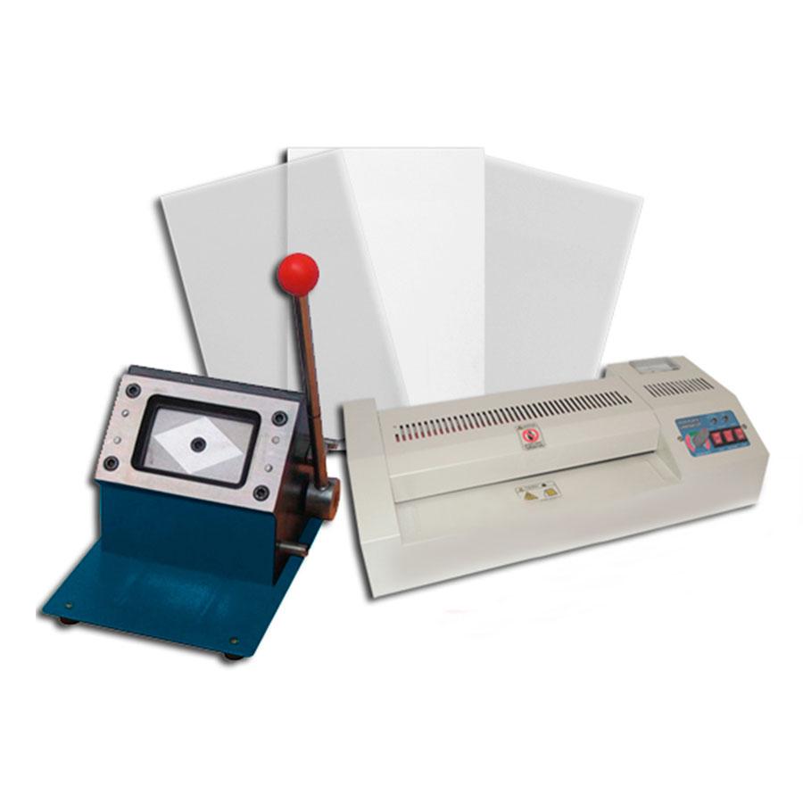 Kit PVC Card para 500 Credenciales